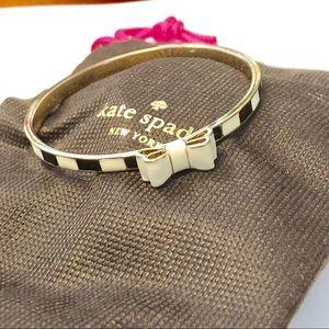 Kate Spade bow bangle bracelet